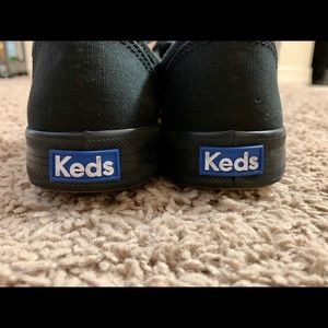 Keds Black Ortholite Shoes